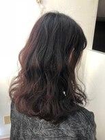 ヘアーアンドメイク ポッシュ 新宿店(HAIR&MAKE POSH)レッドブラウン