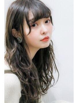 ネイヴィル(navile)☆グラデーションカラー×小顔ヘルシーロング☆【大河