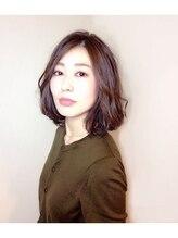 アオ ヘアドレッシングルーム(ao hair dressing room)大人ナチュラルボブ☆