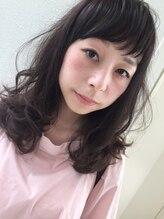 ヘアーデザイン シュシュ(hair design Chou Chou by Yone)☆chouchou☆伸ばしかけ×ゆるふわセミディ♪