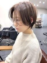 ティティヘアーコーディネート(Titi hair coordinate)丸みハンサムショート
