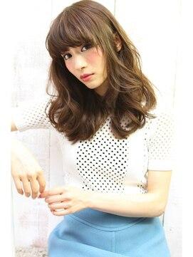ロゼ 西宮(Rose)【Rose】フェミニン×ペールブルー×セミディ☆