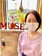 ヘアーメイク ミューズ 扇台(hair make Muse)坂本  久美子