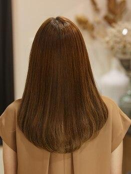 クノン (QUNON)の写真/究極の髪質改善◎どんなパサパサ髪も最終の手段として髪質改善ストレートエステでお悩みを撲滅いたします!!