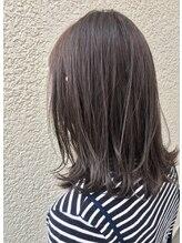 あなたの髪質・状態に合わせた施術と薬剤配合が傷ませないでカラーリングを続けるポイントです♪