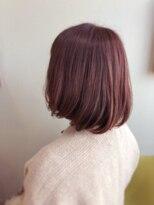 ライフヘアデザイン(Life hair design)春の軽ボブなベージュカラー