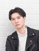 ムード 金沢文庫 hairdesign&clinic mu;d【mu;d金沢文庫】 センターパート ウェーブショート