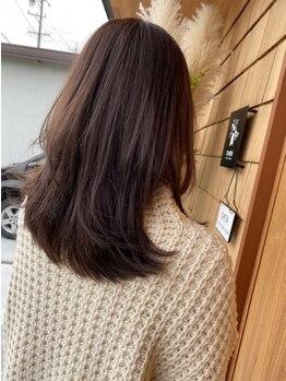 オーウェン(OWEN)の写真/【藤枝市】ナチュラルで自然な仕上がりに定評あり!一人ひとりに合った提案で、広がる髪もまとまる髪へ♪