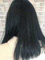 ヘアーメイク プリュム(Hair make Plume)ダークブルー