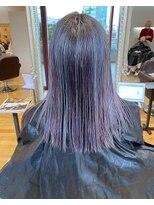 ルッツ(Lutz. hair design)unicorn color