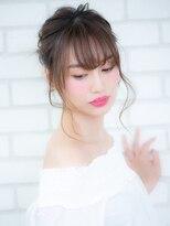 オーブ ヘアー アオヤマ 青山店(AUBE HAIR AOYAMA)うなじ美人アップヘアアレンジ