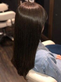 マルヘアデザイン 北巽の写真/《髪質改善》スタイルだけでなく髪の悩みにしっかりと向き合い、髪の毛を本質から綺麗にする☆