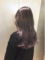 ヘアサロン ドット トウキョウ カラー 町田店(hair salon dot. tokyo color)【Perl lavender10】ブリーチグラデーションカラーリスト田中