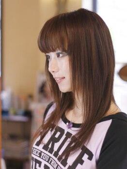 髪物語の写真/『もっと潤う縮毛矯正のススメ&価値ある矯正の提案♪』