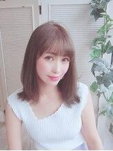ローヴェ ヘアー(LOHVE hair)☆LOHVE☆ナチュラルな大人外ハネセミディ☆