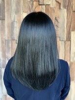 【異次元のツヤ髪】N.髪質改善×N.グレーカラー