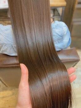 ボブ 関内(BOB)の写真/酸熱トリートメント導入店★ダメージによる髪の広がりを抑え、ハリ艶UPを再現する髪質改善トリートメント♪