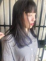 ルシュ(Leshu)個性派ロング Aライン重め 顔周りのレイヤーがポイント☆