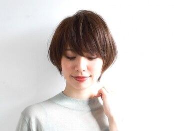 メイバイボヌール(MAY. by Bonheur)の写真/【茶屋町】頭の形を美しくカバーし、髪質に合わせたカット技術だから、乾かすだけでスタイルが決まる。