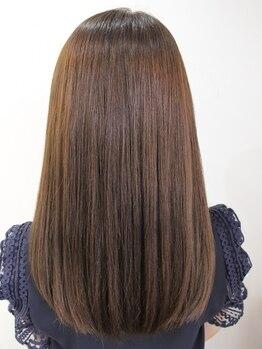 """トリコヘアデザイン(torico hair design)の写真/""""熱吸着技術""""による、芯からの潤いと極上のツヤ体験を貴方に!自分史上最高の美髪へ導きます♪"""