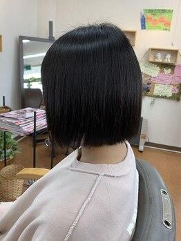 アンジェリ(Angeli)の写真/気になるクセなど髪のお悩みを解決!!ライフスタイルに寄り添ったナチュラルなストレートでお手入れも楽に♪