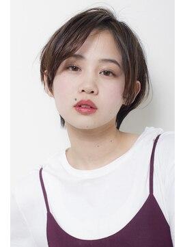 """バジル(BASIL)BAS""""IL☆前髪長めで色気のある大人ショート"""