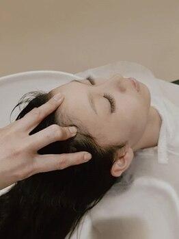 リアン ヘアーアンドフェイシャル(Lian)の写真/炭酸スパで頭皮すっきり!上質なミネラルクリームスパも♪頭皮の健康を促すことで美髪に…