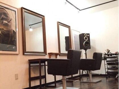 レコードヘア(Record Hair)の写真