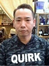 コート 武蔵藤沢(COURT)流行りのツーブロックで男らしさアップのスタイル