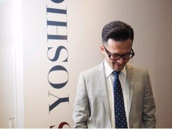 ヘアーズヨシオカ(HAIR'S YOSHIOKA)の写真/スーツに似合うビジネススタイルをトータルでコーディネート!清潔感あふれるスタイルで「出来る男」を演出