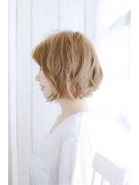 美髪デジタルパーマ/バレイヤージュノーブル/クラシカルロブ/987