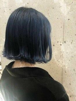美容室 イズ 館林店(Iz)の写真/『こんな色、欲しかった!!』雑誌やSNSで見たあの色が叶う☆カラーバリエーション豊富&デザイン自由自在♪