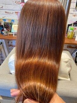 レア(Le'a)の写真/【3year anniversary】話題の髪質改善で潤いに満ちたうるツヤ髪へ♪