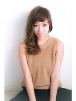 ウノプリール 梅田店(uno pulir)☆unopulir☆ミルクティーモードなクラシカルセミロング