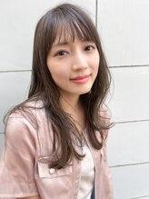 ソワリー 栄(THOiRY)THOiRY【女性らしい柔らかヘア】似合わせ小顔艶髪ゆる巻きロング