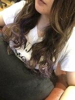 紫メッシュ
