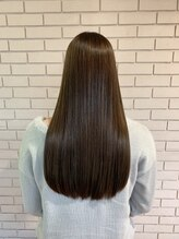 髪質改善で大人気の美髪チャージサイエンスアクアトリートメントでサラツヤに!!