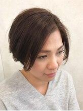 アクイール ピュール ヘア(Accueillir Pur hair)ストレートショートスタイル【見附】【長岡】
