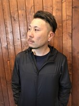 クーカイ ヘア ワークス(Kookai hair works)外国風ツーブロック