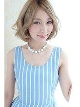 ソース ヘア アトリエ 京橋(Source hair atelier)【Source】外国人風ヌーディベージュ