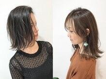 ナナバイロッカ(nana by rocca)の雰囲気(暗すぎない白髪染めも人気◎お客様のご要望に合わせてご提案*)