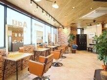 アグ ヘアー シーモ 下関店(Agu hair seamo)の雰囲気(窓が大きいゆったり寛げる場所。癒しのひと時を...♪)
