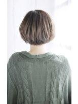 シュシュット(chouchoute)小顔セミウェットウェーブハイライトカラー美髪オリーブカラー38