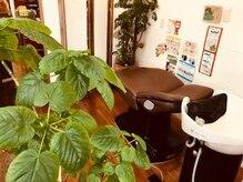 ニコ (Hair Salon Nico)の雰囲気(シャンプースペースもくつろげる空間♪)