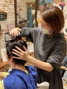 レア(Le'a)の写真/【3year anniversary】髪だけでなく頭皮もケアして贅沢なリラックスタイムを…♪