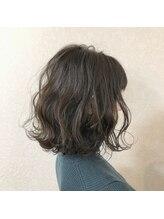 グラフィー(graphy)セピアグレージュ  ツヤ髪