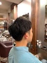 ムード 金沢文庫 hairdesign&clinic mu;d【山崎直樹】 Men'sスタイル