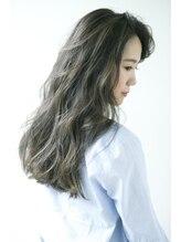 """ヘアーサロン 6(hair salon)""""かきあげる度に動く""""ラフさを強調 3Dハイライト"""