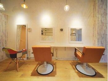 ヘアーズ ロッティー(Hair's Lotti)の写真/「シンプルに綺麗に」がモットーの隠れ家サロン♪マンツーマン施術で、1人1人にしっかり向き合ってくれる☆