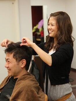 フィリックスフォーメン(for MEN)の写真/【板宿駅徒歩3分】お客様の髪質や雰囲気を大切にしたスタイル提案が好評◎高い似合わせ技術で理想を叶える